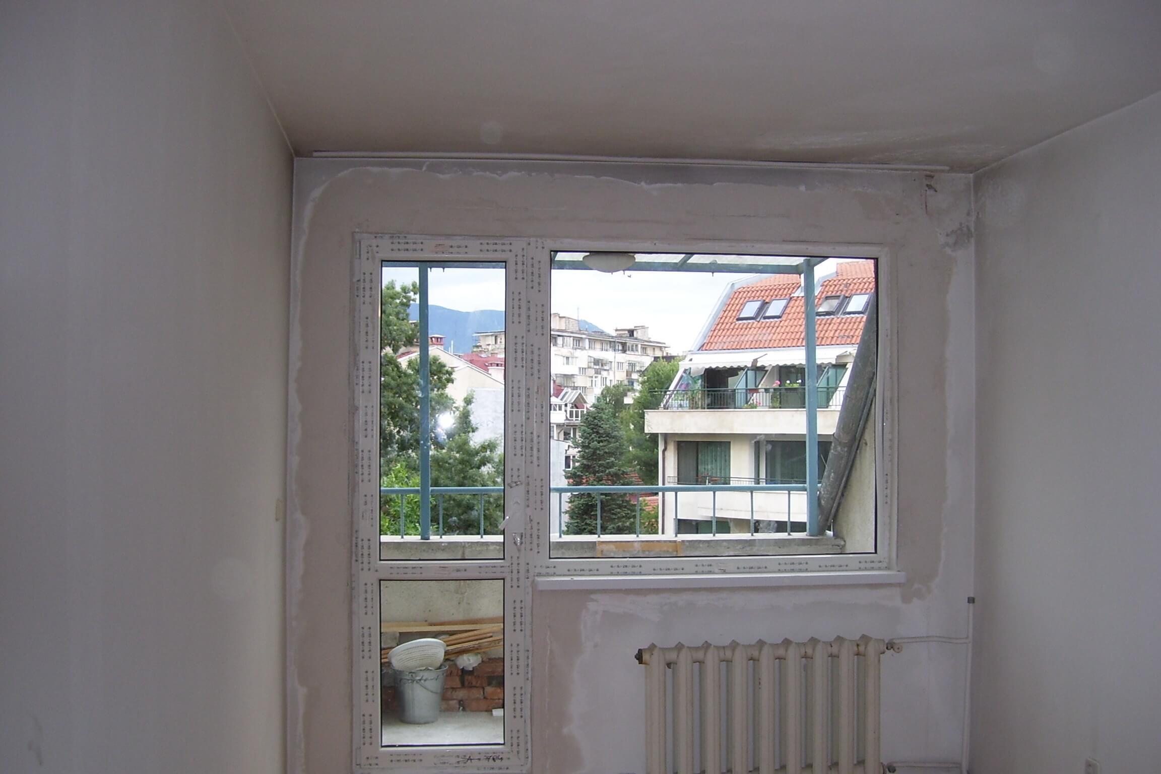 Обръщане на прозорци и врати